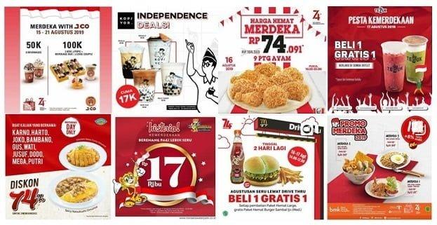 17 Agustus Great Sale sampai Pulsa Diskon