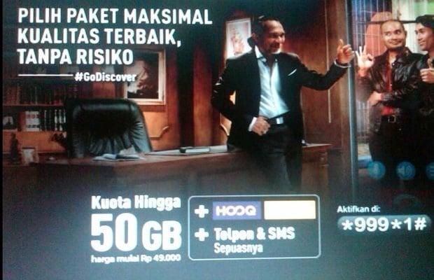 Paket Internet murah kuota besar Telkomsel 50GB