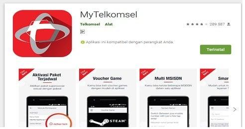 MyTelkomsel aplikasi Android Google Playstore