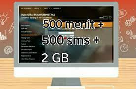 Paket Promo 500 menit 500 SMS dari Telkomsel terbaru