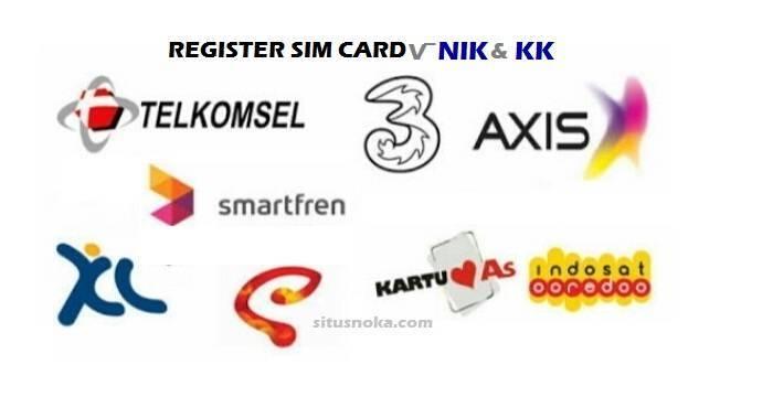 Cara REGISTRASI SIM CARD Prabayar dengan NIK dan KK