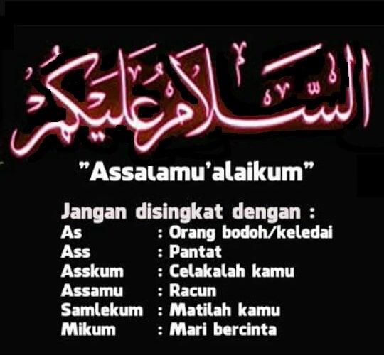 """Kumpulan tulisan arab Salam, Aamiin, Bismillah, Masya Allah, Subhanallah"" is locked Kumpulan tulisan arab Assalamualaikum"