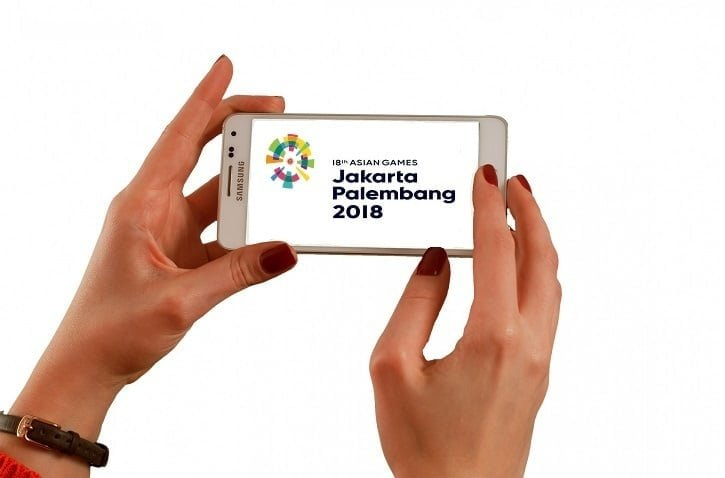 Atlet Asing pakai Telkomsel Asian Games 2018