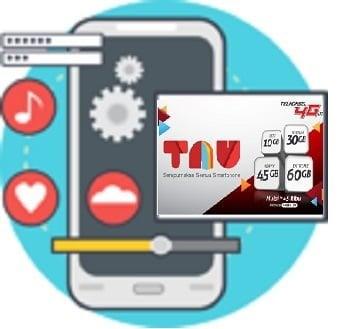 Paket TAU Telkomsel 30GB