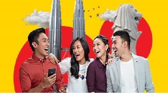 Unlimited Roaming Booster antar Negara 2018