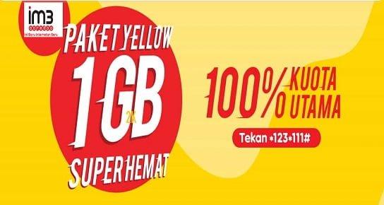 Paket Yellow Indosat 2Ribuan 2019