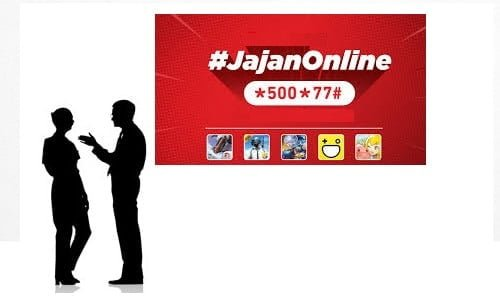 Jajan online Telkomsel 5Ribu