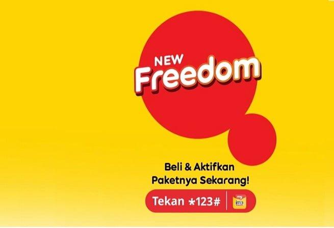 Freedom Internet Indosat baru bebas khawatir