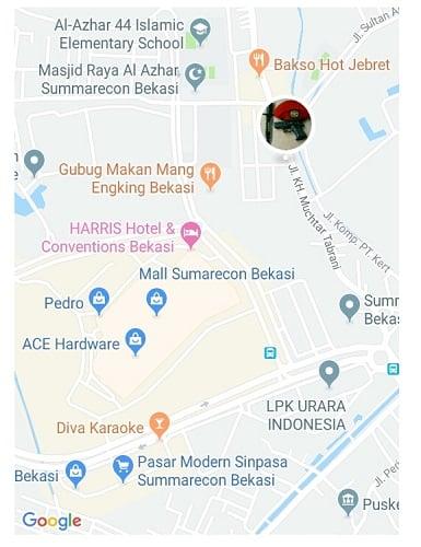 Google Map 3D Online