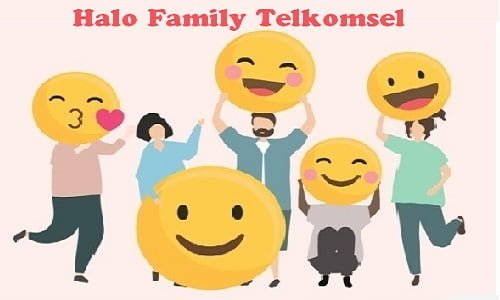 Paket internet Halo Family Telkomsel