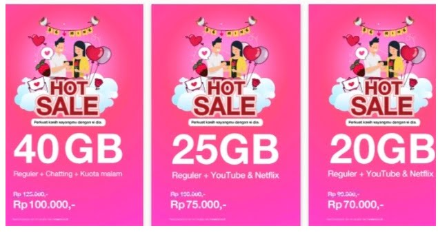 Paket Hot Sale TRI Unlimited 2020
