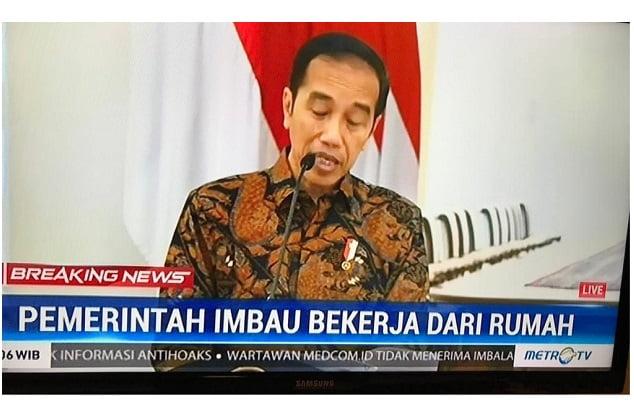 Jokowi terima Aplikasi Belajar di rumah saat Covid 19