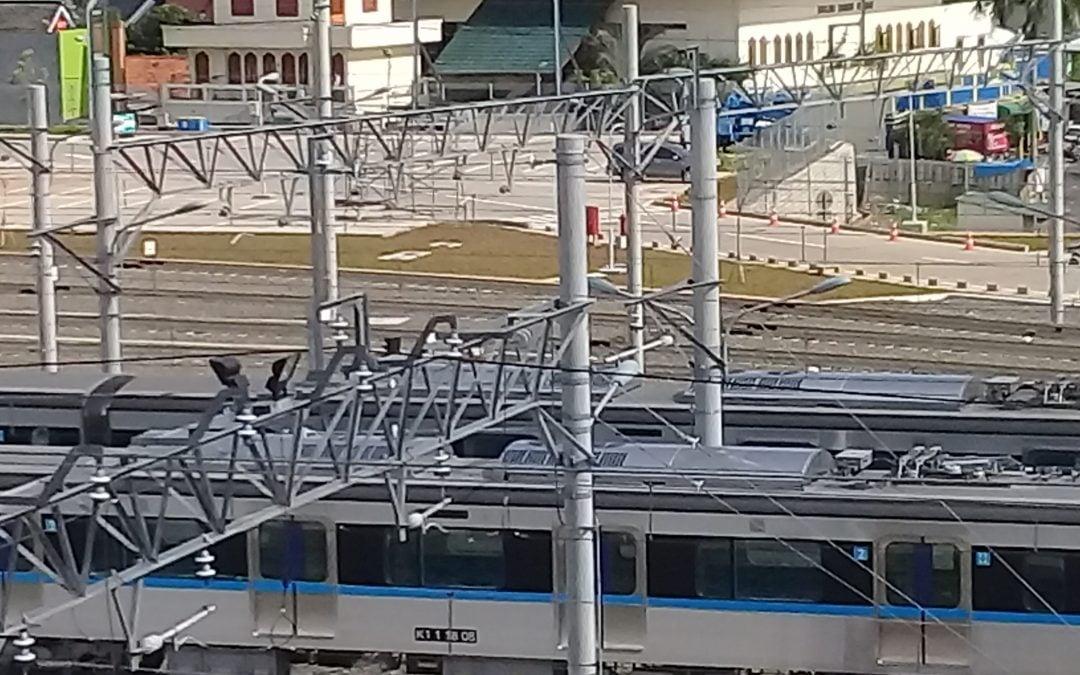 MRT ASEAN Station in Jakarta-Asia Tenggara