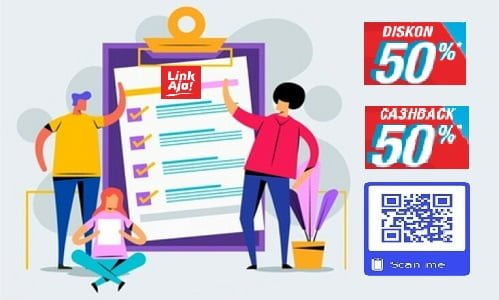 LinkAja QR Telkomsel Bank BUMN