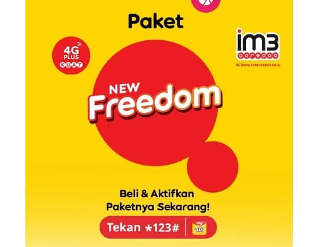 Kuota Indosat New Freedom
