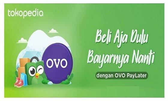 Cara bayar OVO Paylater Tokopedia