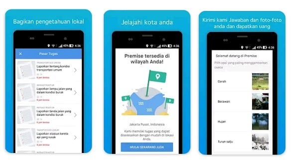 Aplikasi pembaca berita berhadiah