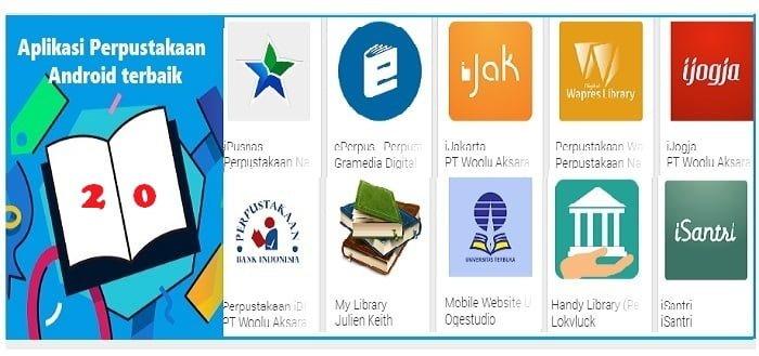 20 Aplikasi Perpustakaan Android terbaik