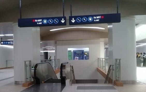Sinyal di MRT Jakarta masih belum tersedia