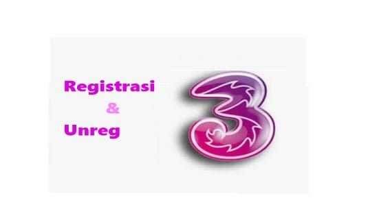 Registrasi dan Unreg TRI 2021