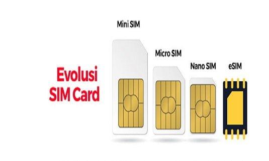eSIM card Smartfren Evolusi