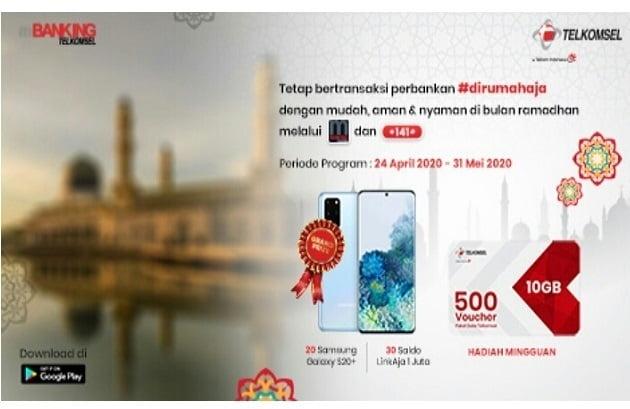 SMS Banking Telkomsel Berhadiah