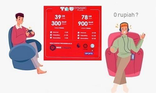 Paket TAU Dynamic 0 Rupiah