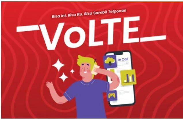 Paket VolTE Telkomsel bisakah di Hp