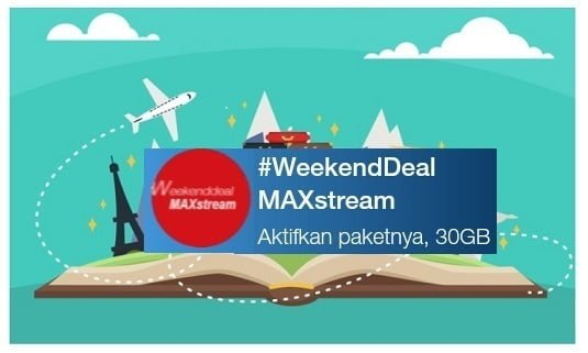 Weekend Deal 30GB hanya 10 Rupiah Wow Telkomsel