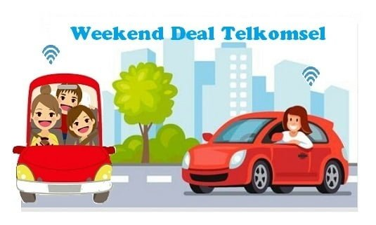 Weekend Deal Telkomsel 50GB