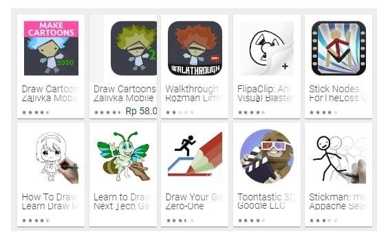 Aplikasi pembuat Animasi 3D bergerak di Android Terbaik