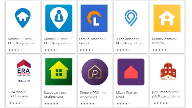 10 Aplikasi jual beli rumah idaman terbaik