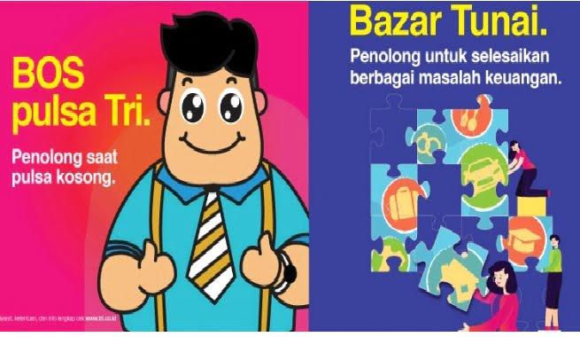 Bazar Tunai dari TRI