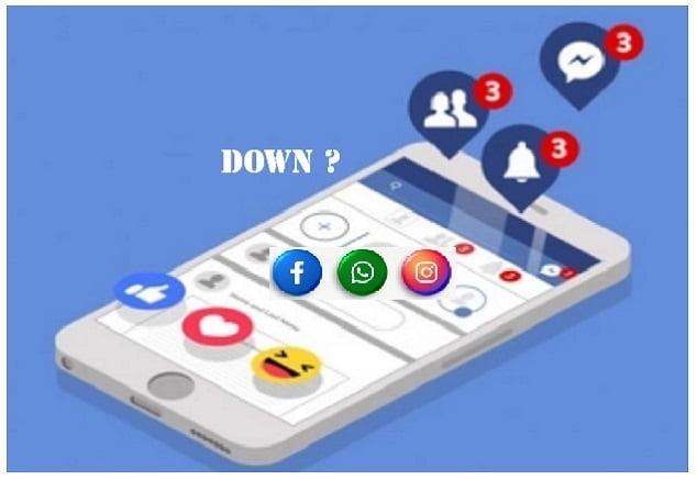 Whatsapp Facebook juga instagram Down, ada apa