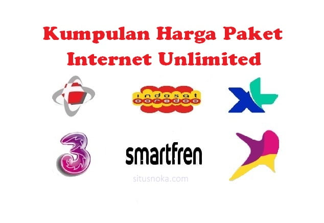 Paket Internet Unlimited All Operator 2020