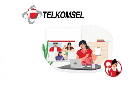 Paket Kuota ketengan Conference Telkomsel