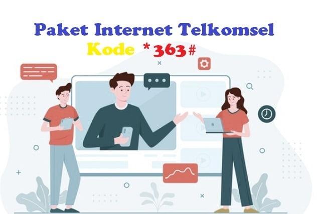 Kumpulan kode 363 paket internet Telkomsel