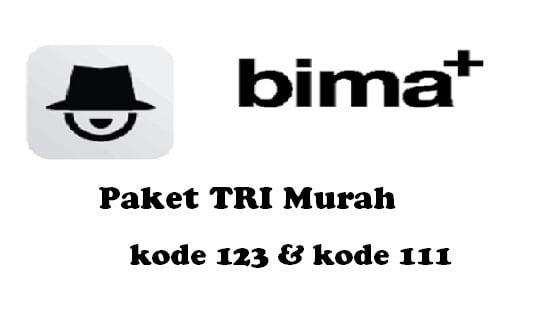 Paket TRI Murah kode 123 dan kode 111