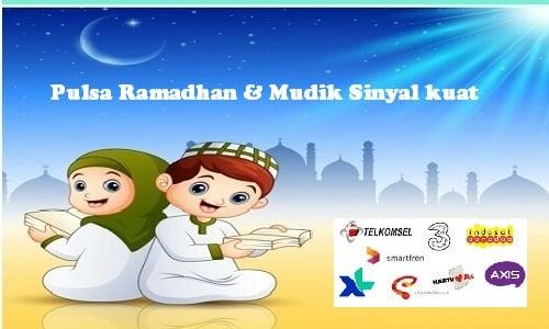 Pulsa Ramadhan dan Mudik Sinyal kuat