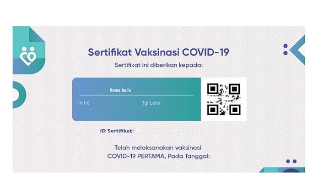 sertifkat vaksin covid-19