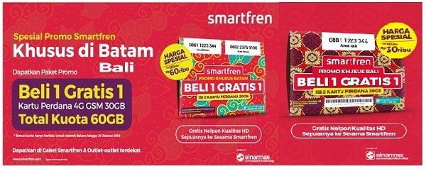 Paket Smartfren Unlimited 60Rb 30GB