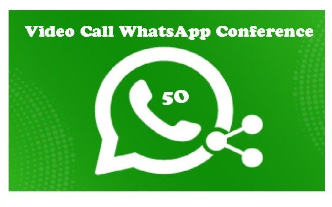 Video Call WhatsApp Conference bisa 50 orang
